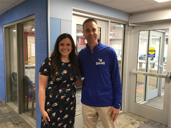 Oakland Welcomes New Assistant Principal